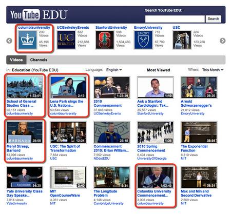 YouTube EDU Portal