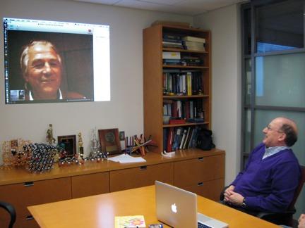 Skype session