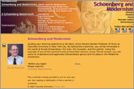 Schoenberg and Modernism