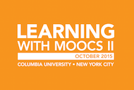 Learning With MOOCS II - 2015
